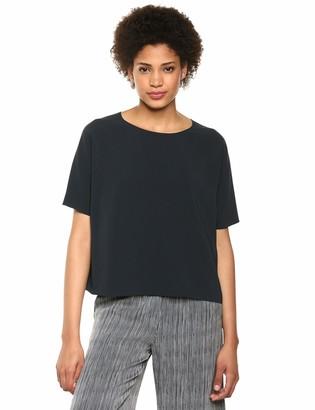 Theory Women's Short Sleeve Back Raglan Top