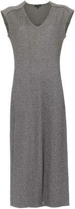 Alcaçuz Linear midi dress