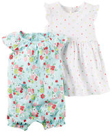 Carter's 2-Piece Dress & Romper Set