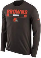 Nike Men's Cleveland Browns Legend Staff Long Sleeve T-Shirt