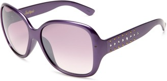 Southpole Womens 138SP PURM Round Sunglasses