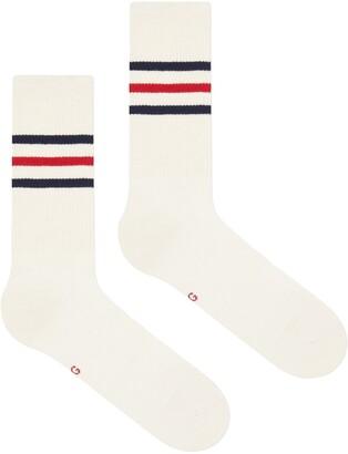 Gucci Three-Stripe Ankle Socks