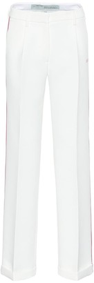 Off-White High-rise wide-leg pants
