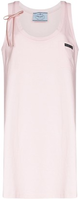 Prada Scoop Neck Sleeveless Dress