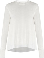 Stella McCartney Asymmetric-hemline wool sweater