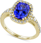 Effy Final Call Tanzanite (1-9/10 ct. t.w.) and Diamond (3/8 ct. t.w.) Ring in 14k Gold