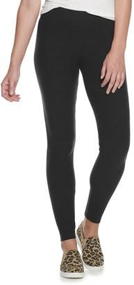 Sonoma Goods For Life Women's Cozy Wide Waistband Leggings