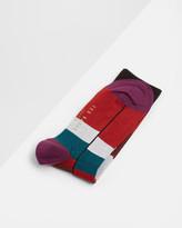Ted Baker Colour block striped socks