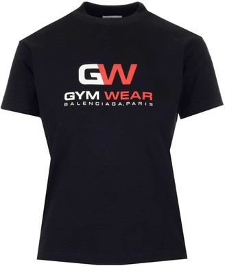 Balenciaga Gym Wear Small Fit T-Shirt