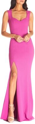 Dress the Population Monroe Side Slit Gown