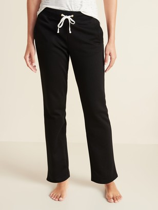 Old Navy French Terry Straight-Leg Sweatpants for Women