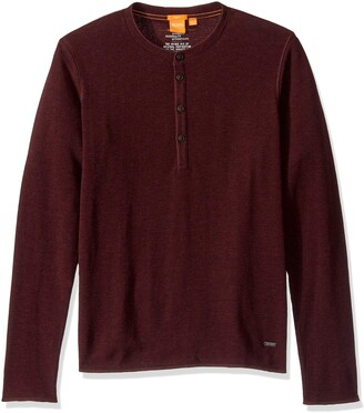 BOSS ORANGE Men's Topsider Henley