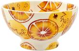Emma Bridgewater Black Toast 'Oranges' French Bowl, Orange, Dia.13cm
