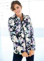 Kaleidoscope Quilted Floral Print Jacket