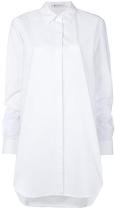 Alexander Wang oversized gathered sleeve shirt