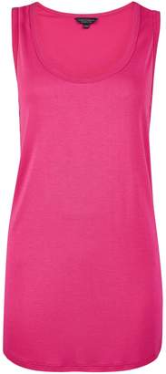 Dorothy Perkins Womens Pink Viscose Vest, Pink