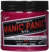 Manic Panic Hot Hot Pink Semi Permanent Cream Hair Color