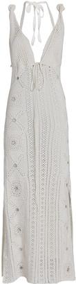 Jonathan Simkhai Remi Crochet Cotton Midi Dress
