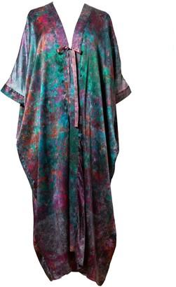 Carmen Molina Koralina Silk Cocoon Kaftan
