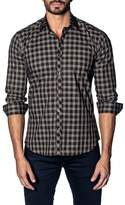 Jared Lang Slim Fit Buffalo Check Sport Shirt