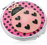 Betsey Johnson Women's Gifting Hostess Lady Bug Compact Red Compact