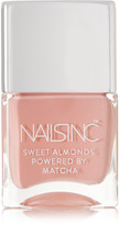 Nails Inc Sweet Almonds Powered By Matcha Nail Polish - King William Walk
