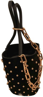 Alexander Wang Roxy Black Velvet Handbags