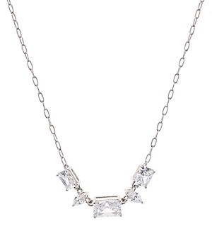 Nadri Rae Small Frontal Necklace, 16