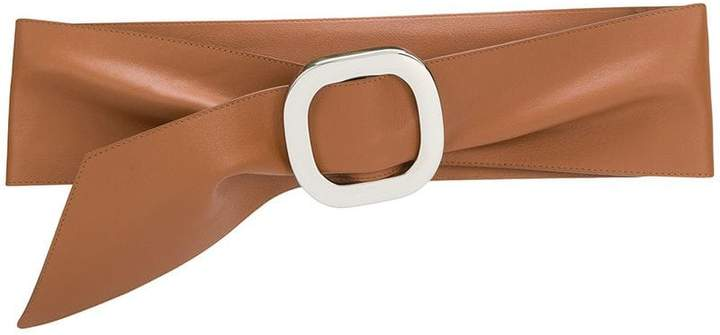 Orciani wide square buckle belt