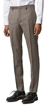 The Kooples Zig Zag Wool Suit Trousers