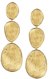 Marco Bicego 18K Yellow Gold Lunaria Three Drop Earrings