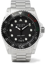Gucci Dive 45mm Stainless Steel Watch