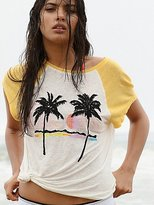 We The Free Island Palm Tree Tee at Free People