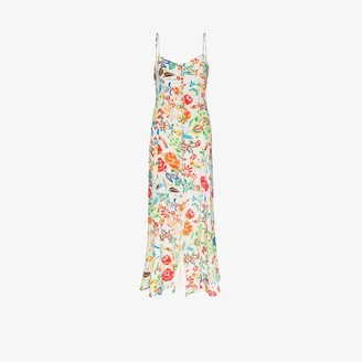 All Things Mochi Melissa floral print maxi dress