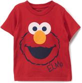 Children's Apparel Network Sesame Street Elmo Face Tee - Toddler