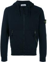Stone Island zip up hooded jacket - men - Cotton - XXXL