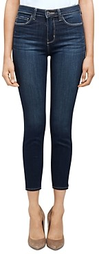 L'Agence Margot High-Rise Skinny Jeans in Orlando