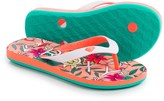 Roxy Tahiti Flip-Flops (For Little and Big Girls)