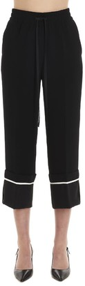 RED Valentino Cropped Drawstring Trousers