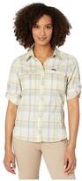 Columbia Silver Ridge Lite Plaid Long Sleeve Shirt (Buttercup Medium Multi Plaid) Women's Long Sleeve Button Up
