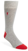 Cole Haan Men's Pinch Stripe Socks