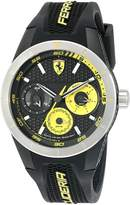 Ferrari Men's 0830257 RED REV T MULTI Analog Display Quartz Watch