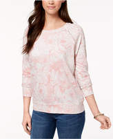 Style&Co. Style & Co Printed Sweatshirt, Created for Macy's