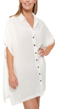 Thumbnail for your product : Dotti Royal Belize Shirtdress Cover-Up Women's Swimsuit