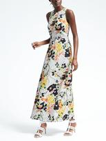Banana Republic Bold Floral Maxi Dress