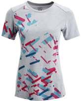 Gore ESSENTIAL Print Tshirt scuba blue/raspberry rose