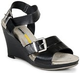 Manas Design Wedge Sandal Black