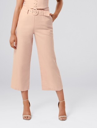 Ever New Elise Petite Linen-Blend Pants