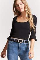 Forever 21 Bell-Sleeve Top
