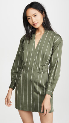 Derek Lam 10 Crosby Utility Wrap Dress